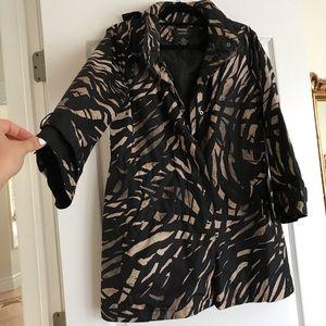 Like New-Alfani rain coat size Small